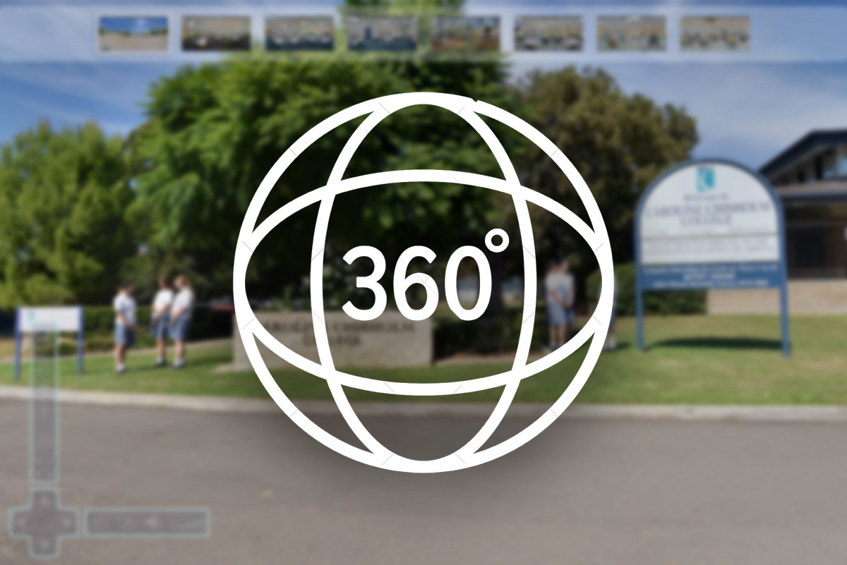 Take a 360 virtual tour of Caroline Chishom Catholic College